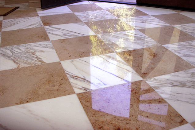 Foyer Marble Polishing Saratoga