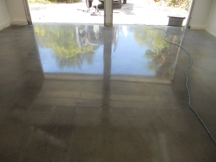 Garage Concrete Polishing San Jose