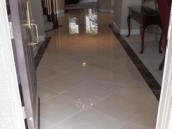 Polished Marble Floor San Jose, Ca.