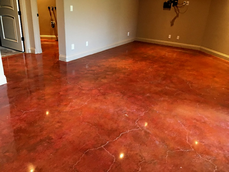 Concrete Polishing San Jose Stained