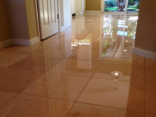 Morgan Hill Polished Marble floors 2