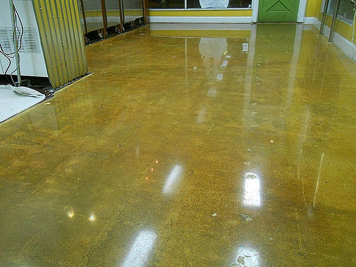 Redwood City Concrete Polished Floors